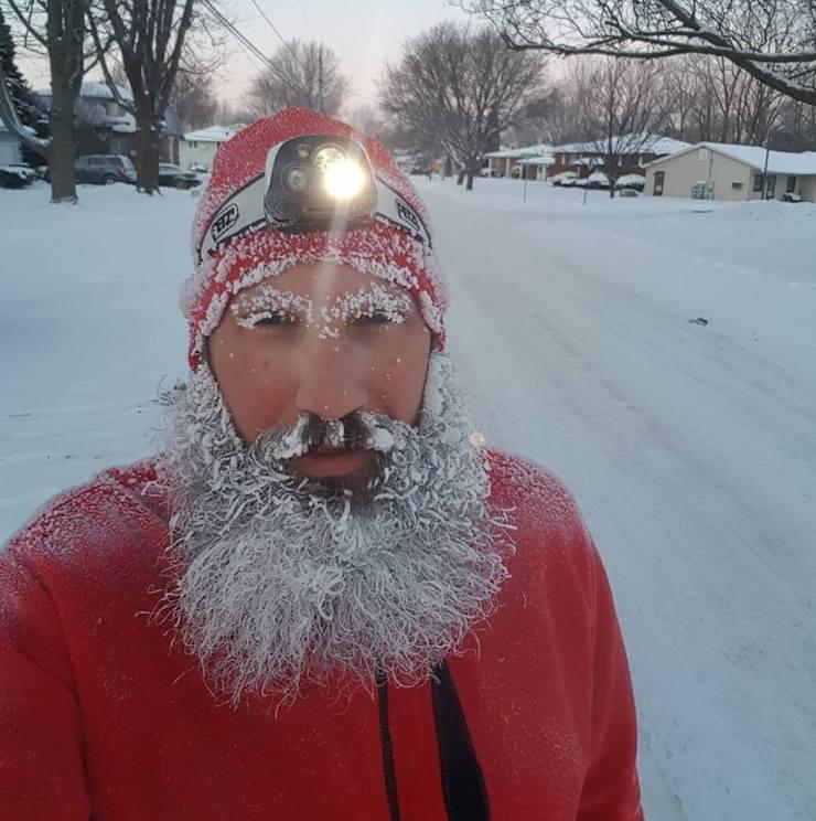 Frozen selfie